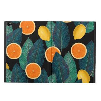 Capa Para iPad Air preto dos limões e das laranjas