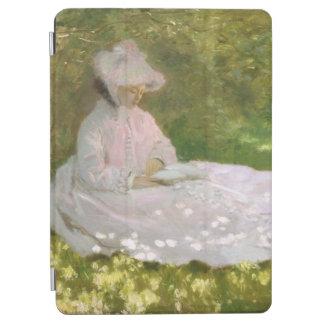 Capa Para iPad Air Primavera por Claude Monet
