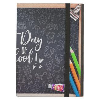 Capa Para iPad Air Primeiros quadro-negro & papel de carta do