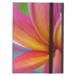 Capa Para iPad Air Profundo amarelo alaranjado - flor tropical
