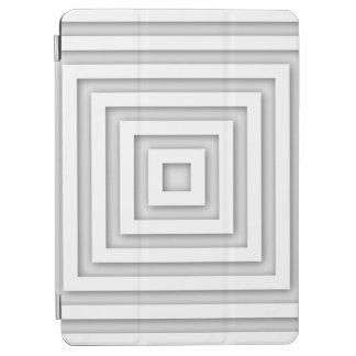 Capa Para iPad Air Quadrado branco geométrico