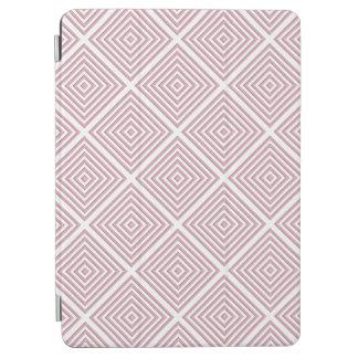 Capa Para iPad Air Quadrados geométricos cor-de-rosa