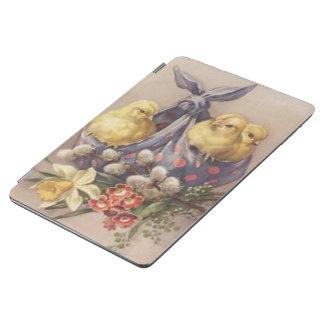 Capa Para iPad Air Recolhendo pintinhos da páscoa