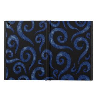 Capa Para iPad Air Redemoinhos Textured azuis