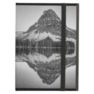 Capa Para iPad Air Reflexão da montanha de Sinopah, parque nacional