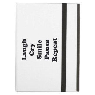 Capa Para iPad Air Repetição do riso