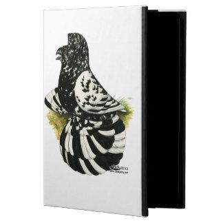 Capa Para iPad Air Respingo escuro do pombo da trompetista
