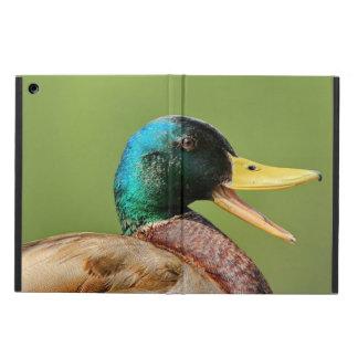 Capa Para iPad Air retrato do pato do pato selvagem