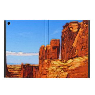 Capa Para iPad Air Rochas do parque nacional dos arcos