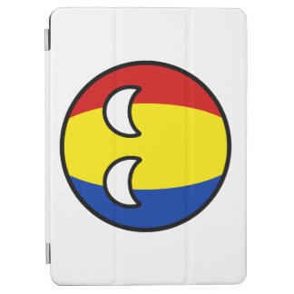 Capa Para iPad Air Romania Geeky de tensão engraçado Countryball
