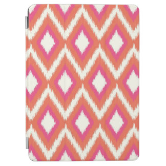 Capa Para iPad Air Rosa e Ikat tribal coral Chevron