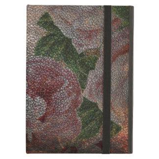Capa Para iPad Air Rosas afligidos do rosa do Victorian do vintage do