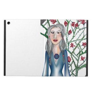 Capa Para iPad Air Rosas com espinho