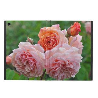 Capa Para iPad Air Rosas cor-de-rosa bonitos