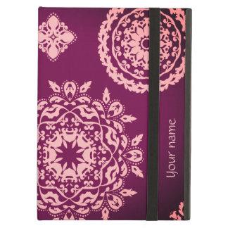 Capa Para iPad Air Roxo cor-de-rosa bonito