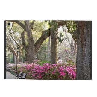Capa Para iPad Air Savana GA em carvalhos das azáleas do parque do