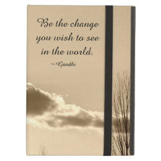 Capa Para iPad Air Seja a mudança
