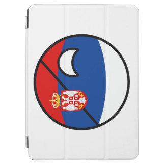Capa Para iPad Air Serbia Geeky de tensão engraçado Countryball