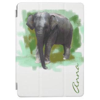 Capa Para iPad Air Seu elefante pintado Photorealistic conhecido do