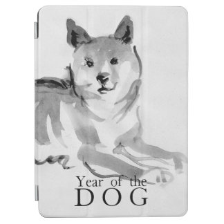 Capa Para iPad Air Shiba Inu que pinta o ano chinês 2018 iPad2 do cão