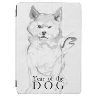 Capa Para iPad Air Shiba Inu que pinta o ano chinês 2018 iPad4 do cão