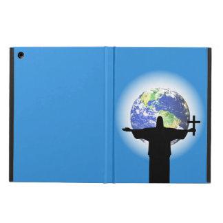 Capa Para iPad Air Silhueta com uma cruz