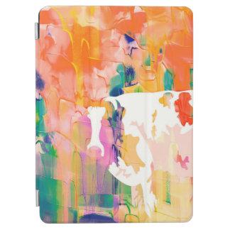 Capa Para iPad Air Silhueta da aguarela da vaca da abstracção