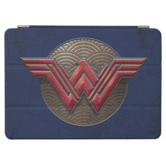 Capa Para iPad Air Símbolo da mulher maravilha sobre círculos