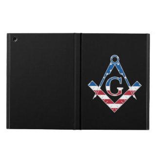 Capa Para iPad Air Símbolo dos EUA Freemasonic
