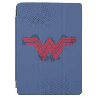 Capa Para iPad Air Símbolo escovado | da mulher maravilha da liga de
