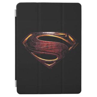 Capa Para iPad Air Símbolo metálico do superman da liga de justiça |