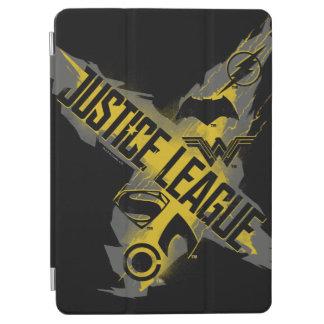 Capa Para iPad Air Símbolos da liga & da equipe de justiça da liga de