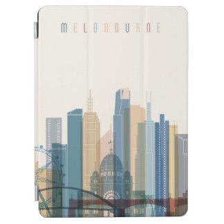Capa Para iPad Air Skyline da cidade de Melbourne, Austrália  