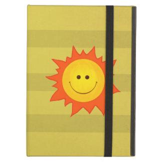 Capa Para iPad Air Sun de sorriso feliz bonito Kickstand