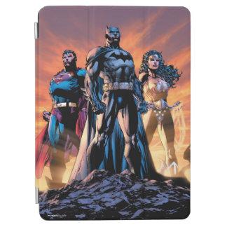 Capa Para iPad Air Superman, Batman, & trindade da mulher maravilha