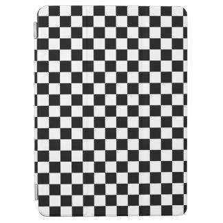 Capa Para iPad Air Tabuleiro de damas preto e branco
