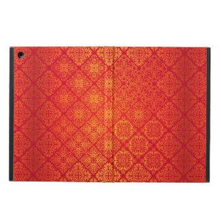 Capa Para iPad Air Teste padrão antigo real luxuoso floral