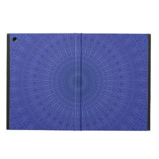 Capa Para iPad Air Teste padrão azul abstrato