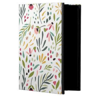 Capa Para iPad Air Teste padrão botânico colorido GR2 das folhas & de
