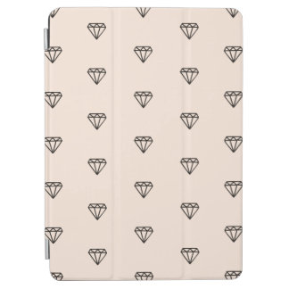 Capa Para iPad Air Teste padrão chique bonito do rosa do diamante