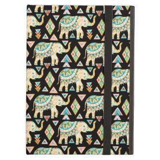 Capa Para iPad Air Teste padrão colorido bonito dos elefantes