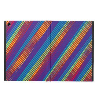 Capa Para iPad Air Teste padrão colorido das tiras