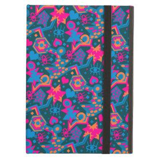 Capa Para iPad Air Teste padrão cor-de-rosa brilhante legal do pop