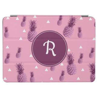 Capa Para iPad Air Teste padrão cor-de-rosa tropical dos triângulos