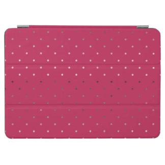 Capa Para iPad Air teste padrão de bolinhas cor-de-rosa do rosa do