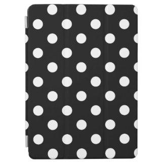 Capa Para iPad Air Teste padrão de bolinhas preto e branco