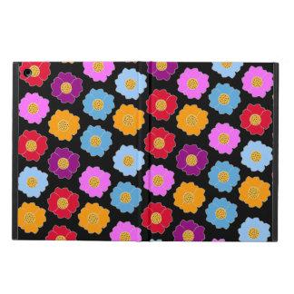 Capa Para iPad Air Teste padrão de flores colorido
