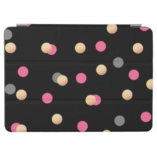 Capa Para iPad Air teste padrão de pontos cinzento dos confetes do