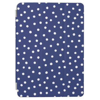Capa Para iPad Air Teste padrão de pontos dos confetes dos azuis