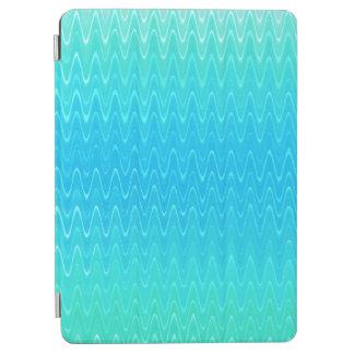 Capa Para iPad Air Teste padrão do abstrato do verde azul da cerceta